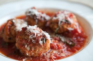 meatballs with ricotta cheese