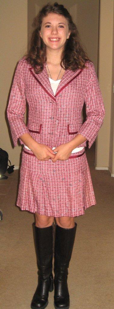 K pink suit 2