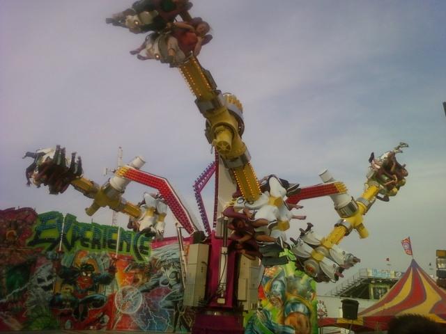 spining thing av fair 2009
